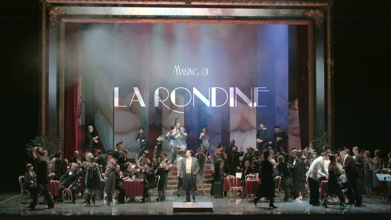 La Rondine – The Making-Of